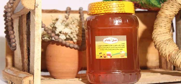 عسل بادام تلخ در مقاله انواع عسل