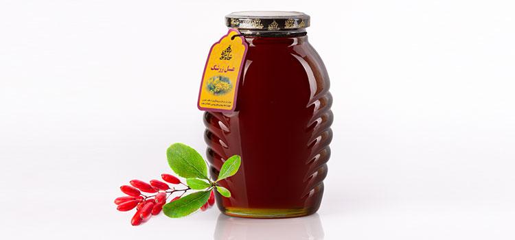 عسل زرشک در مقاله انواع عسل
